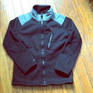 EUC Boys Under Armour Storm1 Fleece Jacket Size XS